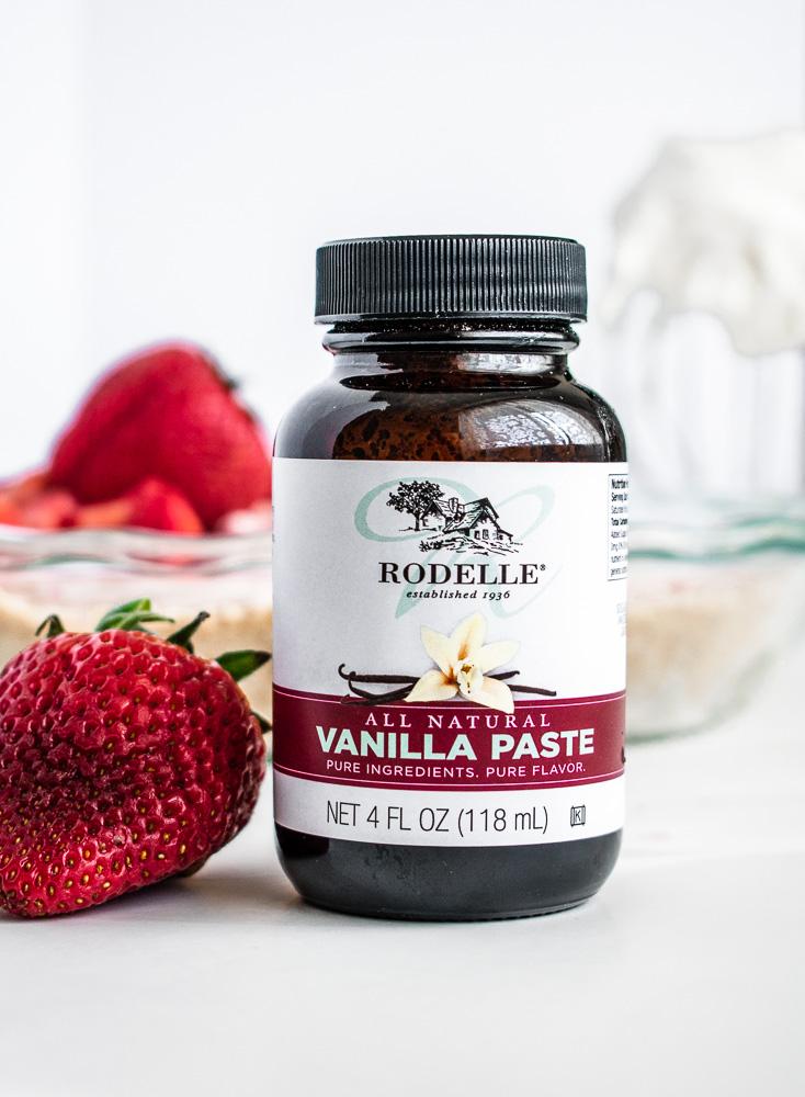Jar of Rodelle Vanilla Bean Paste